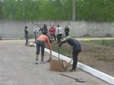 уборка перед ченками) 7  мая 2009